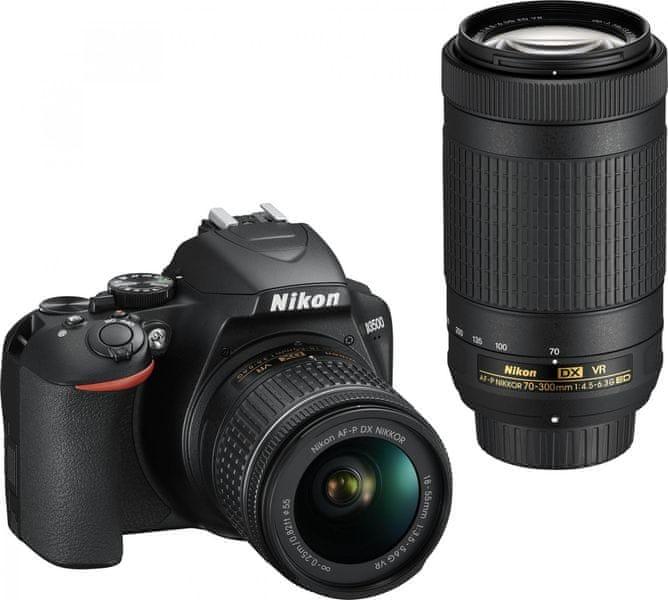 Nikon D3500 + 18-55 VR + 70-300 VR