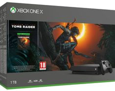 Microsoft Xbox One X + Shadow of The Tomb Raider