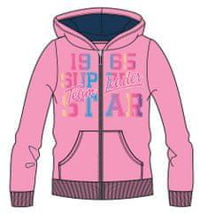 Mix 'n Match dekliški pulover z zadrgo z napisom