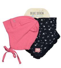 Blue Seven dívčí set čepice a šátku