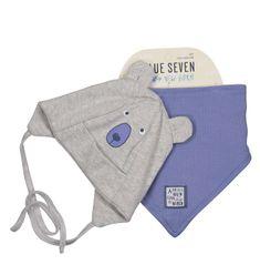 Blue Seven chlapecký set čepice a šátku