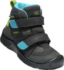 KEEN fantovski gležnjarji Hikeport Mid Strap WP C, sivi/modri/zeleni