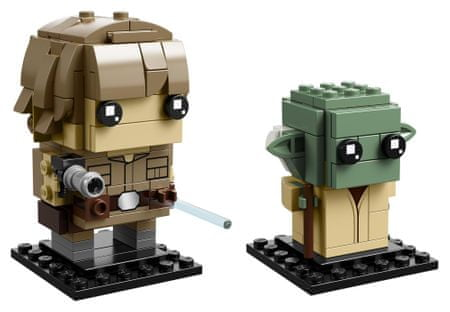 LEGO BrickHeadz 41627 Luke Skywalker in Yoda