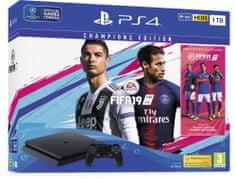 Sony Playstation 4 Slim - 1TB + FIFA 19 Champions Edition