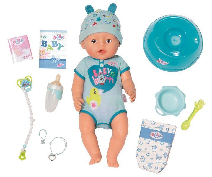 Zapf Creation Baby Born Soft touch - chlapeček