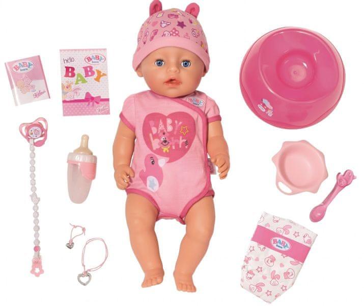 Zapf Creation Baby Born Soft touch - holčička