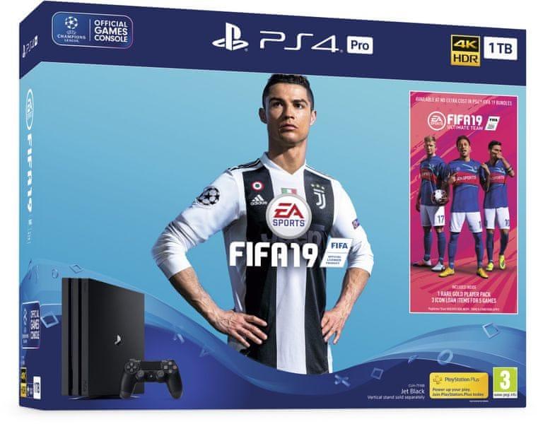 Sony Playstation 4 Pro - 1TB + FIFA 19