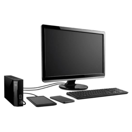 Seagate zunanji disk Backup Plus HUB 10 TB, USB 3.0