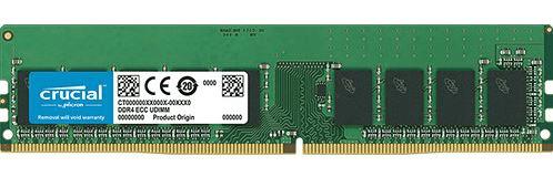 Crucial pomnilnik (RAM) 16 GB, DDR4, PC4-21300, 2666MT/s, CL19, EUDIMM