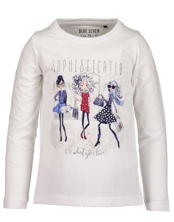 Blue Seven majica za djevojčice, 92 bijela