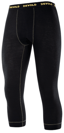Devold Wool Mesh Man 3/4 Long Johns Black M