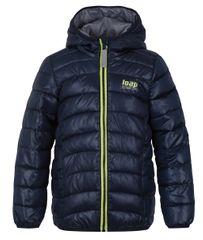 Loap deška zimska bunda Imego, 122/128, temno modra - Odprta embalaža