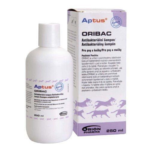 Aptus Oribac antibakteriální šampon 250 ml pro psy a kočky