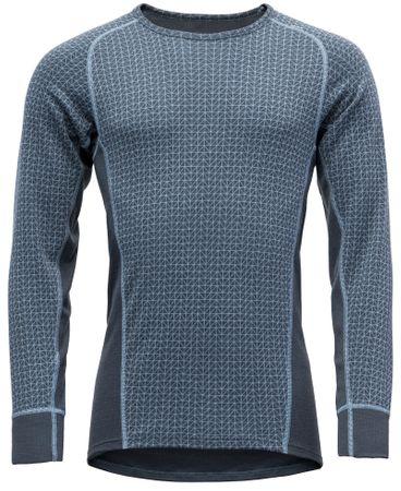 Devold moški pulover Vaksvik Man Shirt Glacier, M