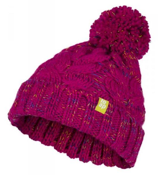 Loap dívčí zimní čepice Zambo 50 - 52 růžová
