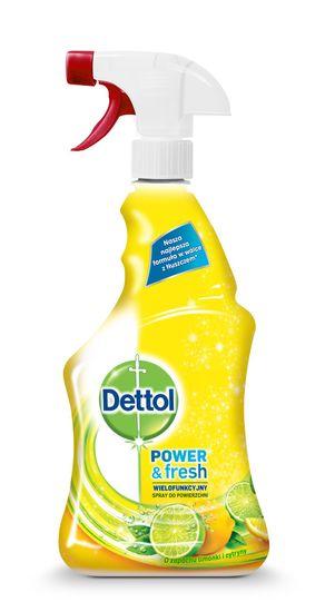 Dettol Antibakteriálny sprej na povrchy Citrón a Limeta 500 ml
