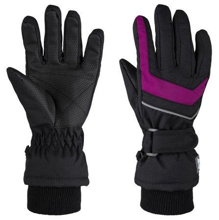 Loap otroške rokavice Renko, 6, črno roza
