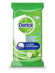 Dettol Antibakteriální ubrousky na povrchy Zelené jablko 36 ks