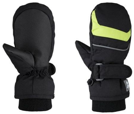 Loap detské palčiaky Rafko 4 čierna/zelená