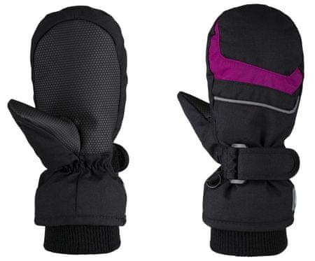Loap dětské palčáky Rafko 4 černá/růžová