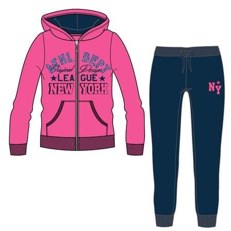 c40724e95bc6 Mix  n Match dievčenská tepláková súprava 122 ružová modrá