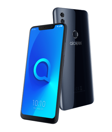 Alcatel 5V (5060D), Spectrum Black