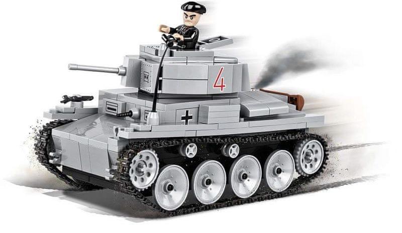 Cobi SMALL ARMY II WW LT VZ. 38 PZKPFW 38 T