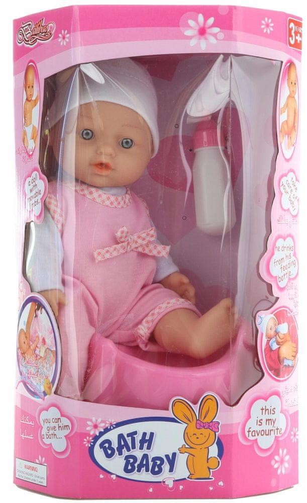 Lamps Panenka miminko čůrací - růžová