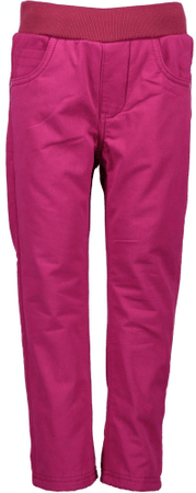 Blue Seven hlače za djevojčice, roze, 92
