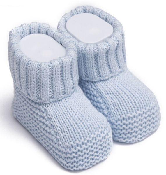 85c90c6131c Kitikate Chlapecké capáčky ponožky pletené 50 - 56 modrá