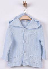 Kitikate Chlapecký pletený svetřík s kapucí