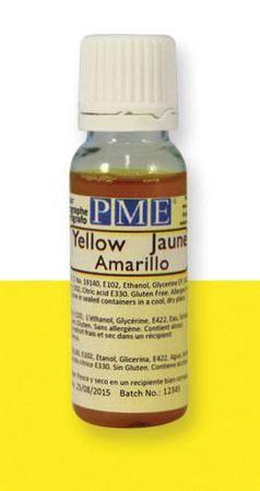 PME PME airbrush barva základní – žlutá