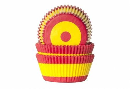 House of Marie Košíček na muffiny vlajka Španělsko 50ks