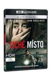 Tiché místo (2 disky) - Blu-ray + 4K ULTRA HD