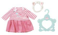 Baby Annabell Slavnostní den - šatičky a čelenka