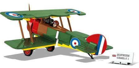 Cobi SMALL ARMY Great War Sopwith F.1 Camel