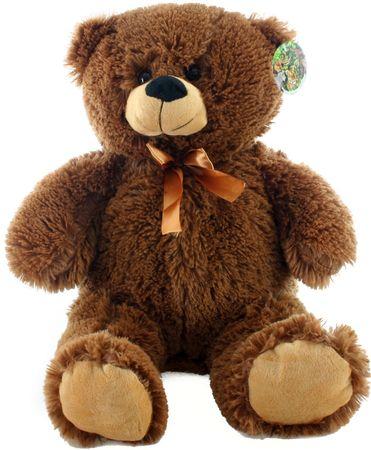 Lamps Plyš medvěd tmavý 46 cm