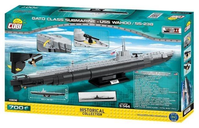 Cobi SMALL ARMY II WW Americká ponorka Gato