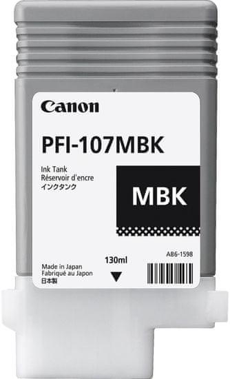 Canon kartuša PFI-107MBK, mat črna (6704B001AA)