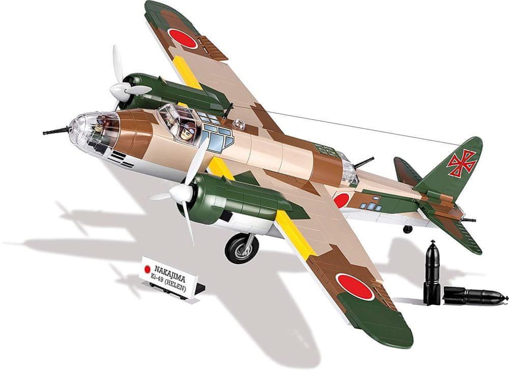 Cobi 5533 Small Army II WW Nakajima Ki-49 Helen 550 k 2 f