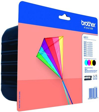 Brother LC-223VALBP, multipack (LC223VALBP)