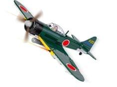 Cobi myśliwiec Small Army II WW Mitsubishi Zero 265 k