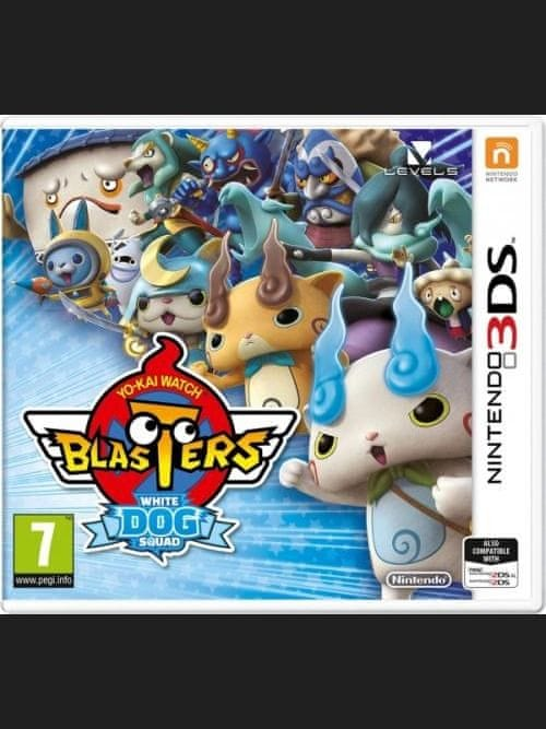 Nintendo Yo-Kai Watch Blasters White Dog Squad (3DS)