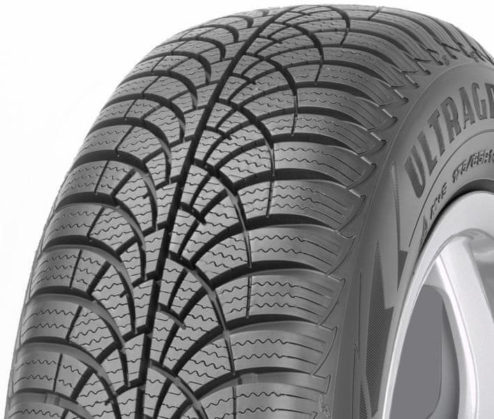 Goodyear UltraGrip 9 195/65 R15 91 H - zimní pneu