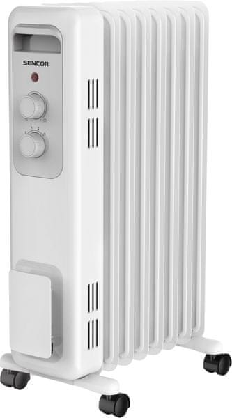 Sencor SOH 3207WH olejový radiátor