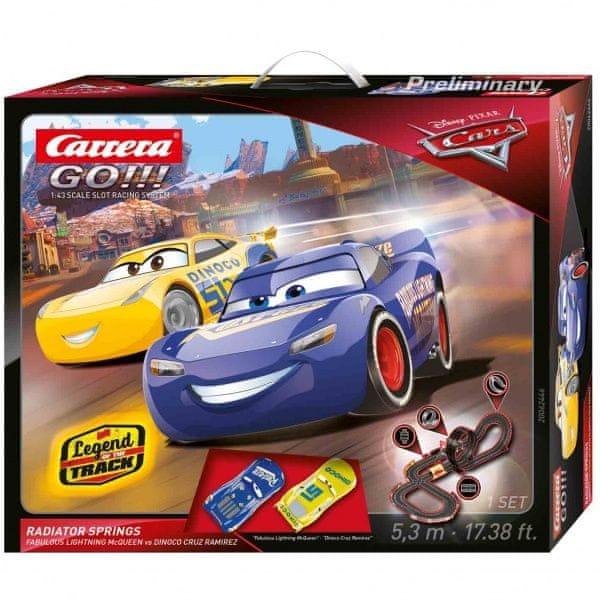 Carrera Autodráha GO 62446 Cars 3 - Radiator Springs