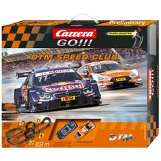 Carrera Autodráha GO 62448 DTM Speed Club