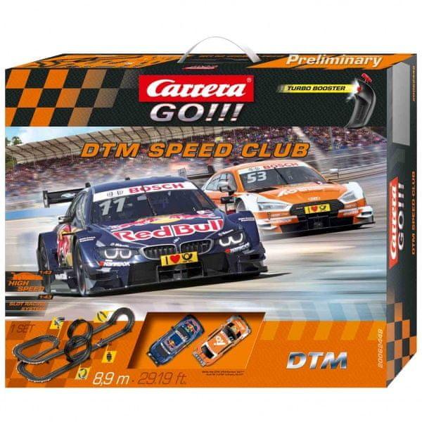 Carrera Autodráha GO 62448 DTM Speed Club