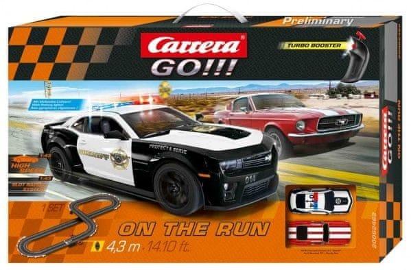 Carrera Autodráha GO 62462 On the Run