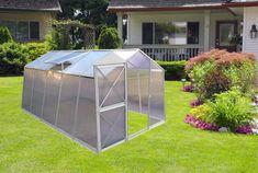 LanitPlast skleník LANITPLAST DODO BIG 8x12 + DÁRKY PC 4 mm šedý